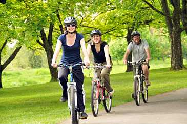 weight loss by riding a bicycle